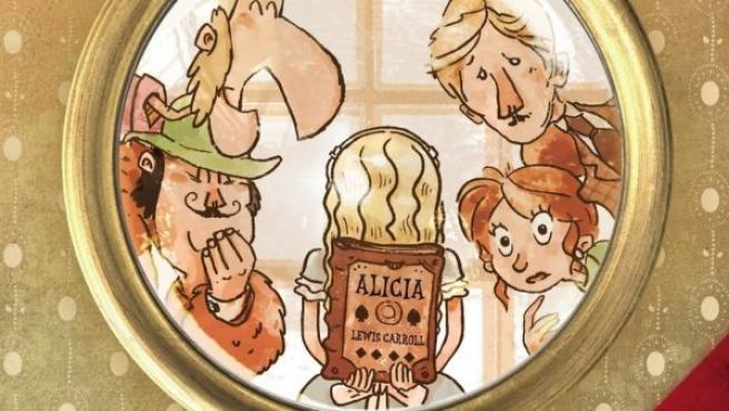 Portada del libro 'Prohibido leer a Lewis Carroll', de Diego Arboleda.