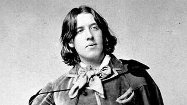Imagen del escritor Oscar Wilde.