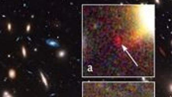 Resultado de imagen de El hubble capta la imagen de galaxias situadas a 13.000 millones de años luz