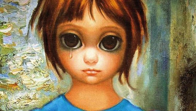 Primer póster de 'Big Eyes', de Tim Burton