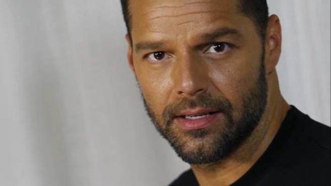 Ricky Martin visita España para promocionar su tema 'Vida'.