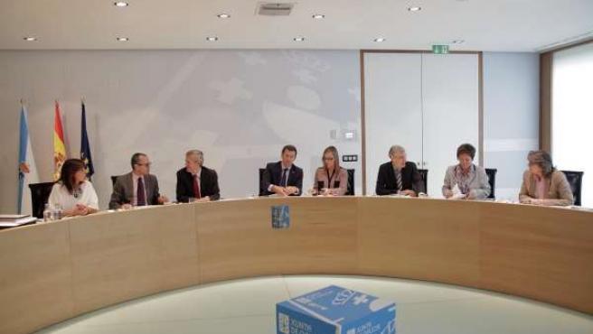 SAN CAETANOO mandatario galego, Alberto Núñez Feijóo, presidirá a reunión semana