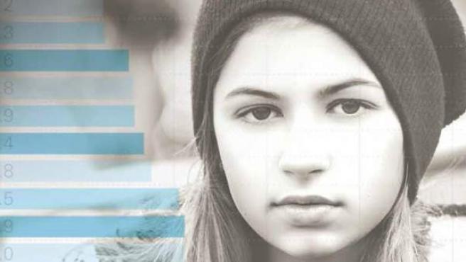 Portada del informe 'Los niños de la recesión', de Unicef.