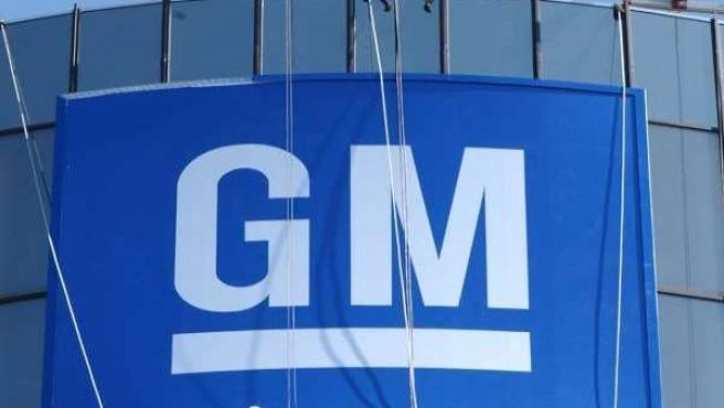 Un edificio de la automovilística General Motors.