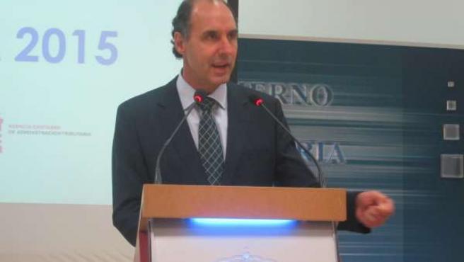 El presidente de Cantabria y del PP cántabro, Ignacio Diego