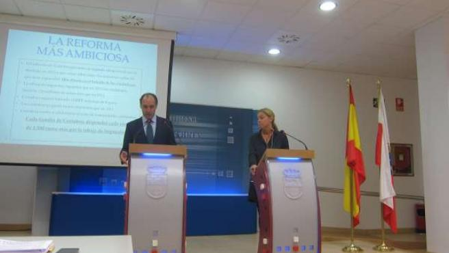 Presentación de la reforma fiscal de 2015