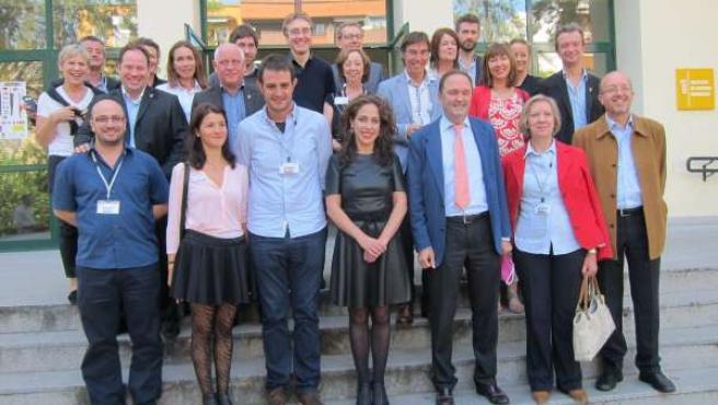 Clausura de la V Feria EuroEmpleaT en Cáceres