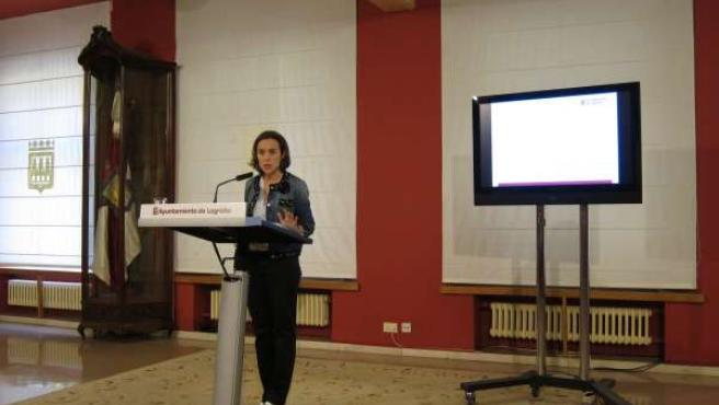 Gamarra, en la presentación de los presupuestos municipales para 2015