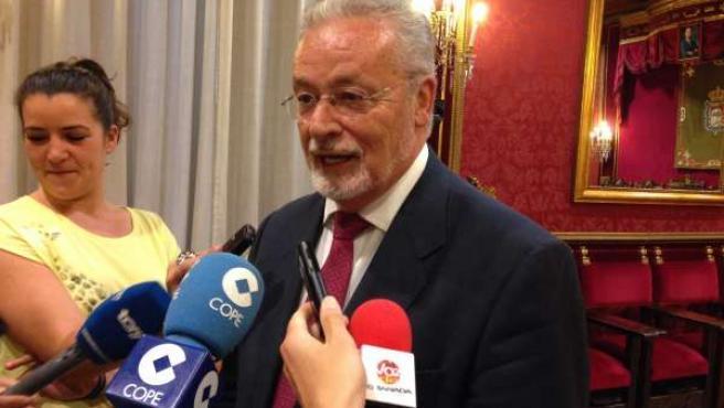 Jesús Maeztu, en Granada