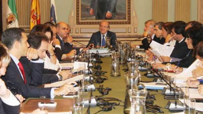 Pleno del Ayuntamiento de Huelva correspondiente al mes de octubre.