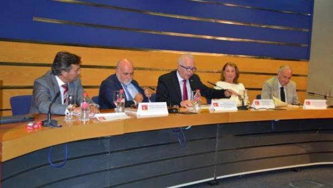 Acto de celebración de los quince años de 'Andalucía Inmobiliaria'