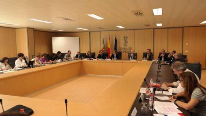 Reunión de la Mesa General de Negociación.