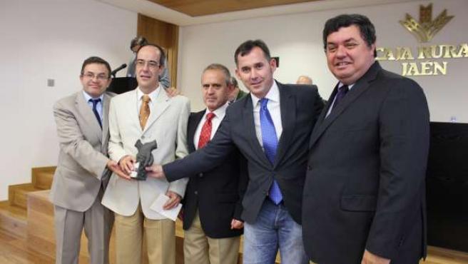 Entrega de premios de Caja Rural de Jaén en Geolit