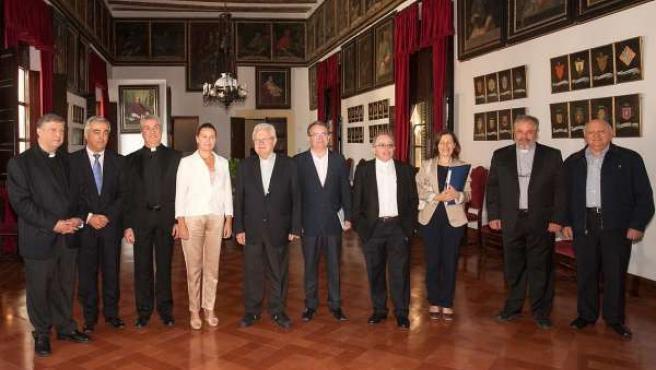 Comisión mixta Consell de Mallorca-Obispado