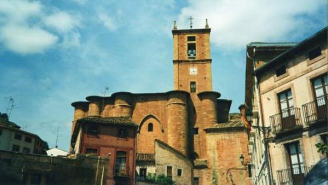 El Monasterio de Santa María la Real, en Nájera