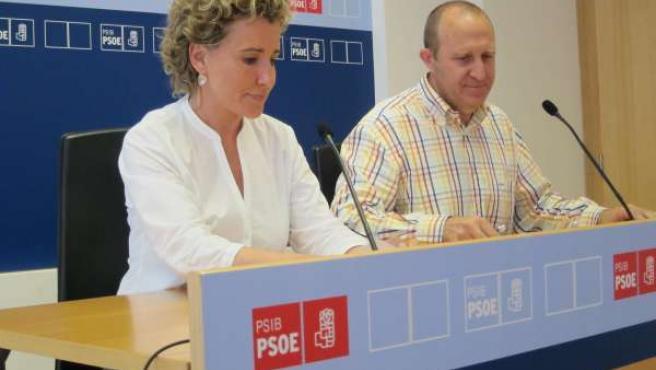 Aina Calvo Y Andreu Alcover