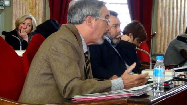 El concejal de UPyD, José Antonio Sotomayor