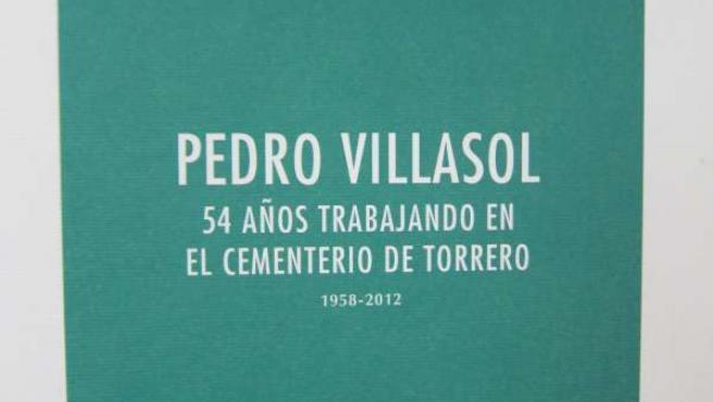 Libror sobre Pedro Villasol, 54 años trabajando en cementerio de Torrero