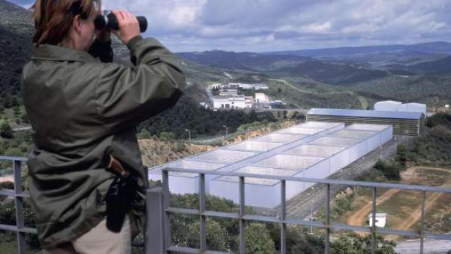 Vista De La Plataforma Sur De El Cabril