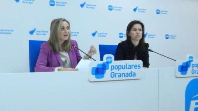 Marifrán Carazo y Ana Vanessa García
