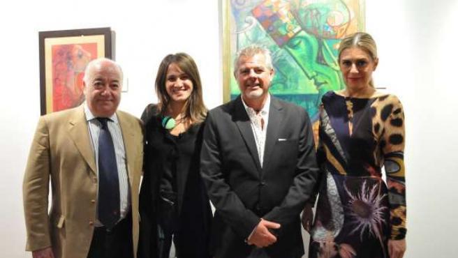 Bantierra acoge una exposición del artista andaluz Andrés Mérida