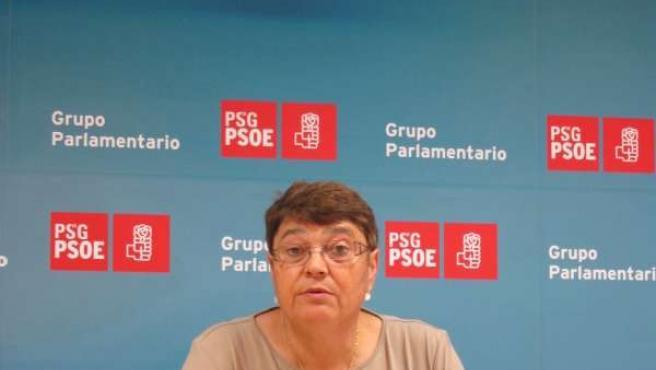 Marisol Soneira En Rueda De Prensa