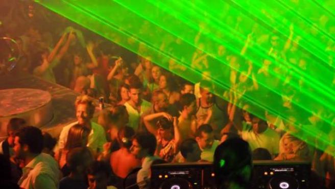 Imagen de archivo de una fiesta 'rave'.