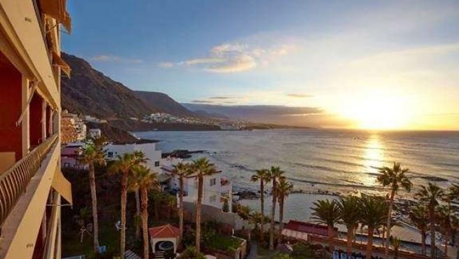Vistas desde Océano hotel en Tenerife