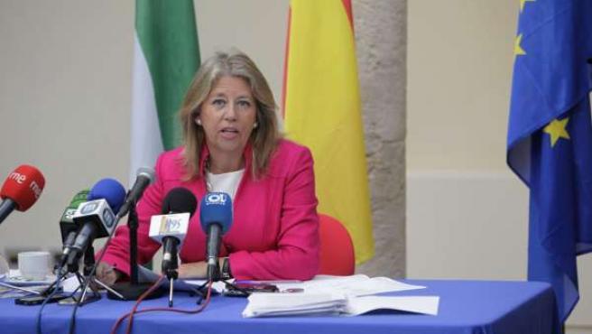 Angeles Muñoz, alcaldesa de Marbella famp