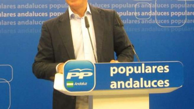 Miguel Ángel Arauz, este viernes