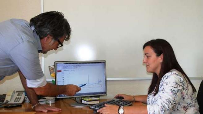 La concejal de Nuevas Tecnologías, Gloria Adán
