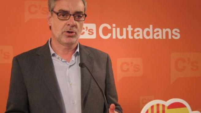 José Manuel Villegas, C's (Archivo)