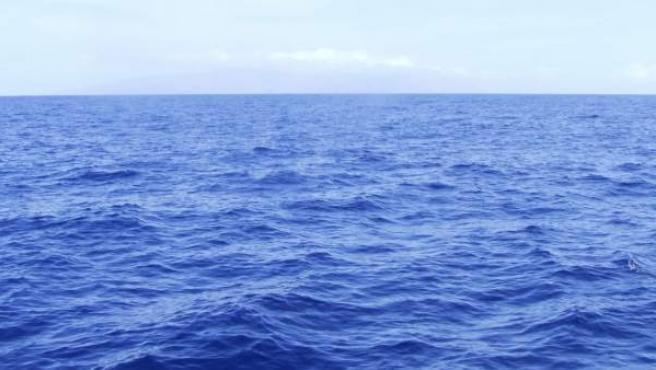 Visión del océano.