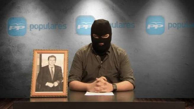 Vídeo del programa 'la Tuerka' donde se parodian los últimos casos de corrupción en el PP.