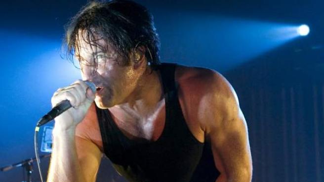 Trent Reznor, cantante de Nine Inch Nails.