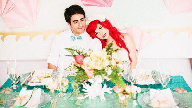 Galería: La boda de 'La Sirenita' en la vida real