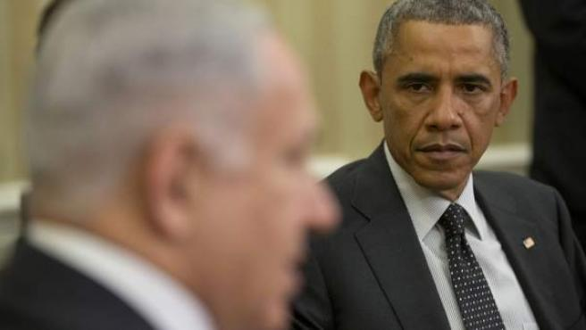Obama y Netanyahu, en la Casa Blanca este 1 de octubre pasado.