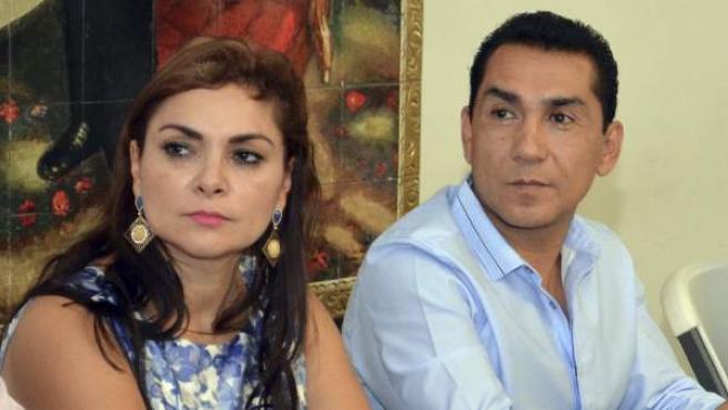 José Luis Abarca, alcalde de la localidad mexicana de Iguala y su esposa, María de los Ángeles Pineda,