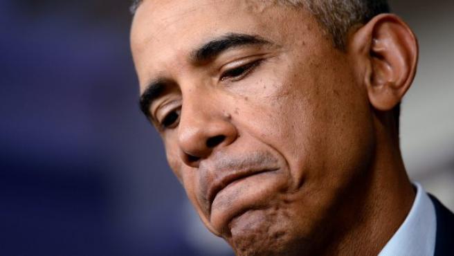 El presidente estadounidense, Barack Obama, en una rueda de prensa.
