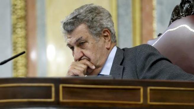 El presidente del Congreso, Jesús Posada, durante un pleno en la Cámara baja en Madrid.