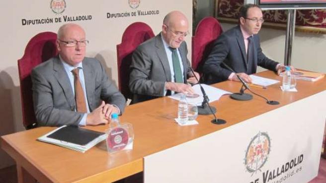 Presentación de los Presupuestos de la Diputación para 2015