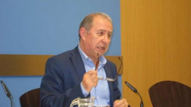 El vicealcalde de Zaragoza, Fernando Gimeno