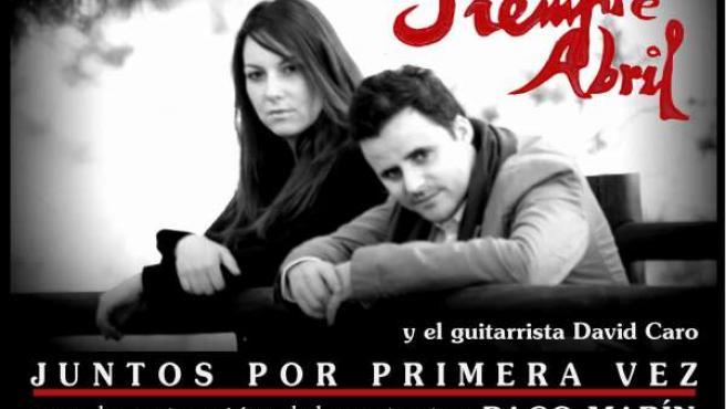Cartel gira Juan Pinilla y Lucía Sócam