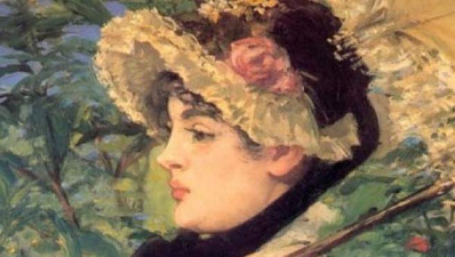 'La primavera', de Manet.