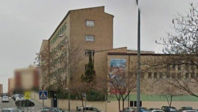 La calle donde ha tenido lugar el intento de secuestro, con el colegio Montpellier de fondo, en una imagen de Google Maps.