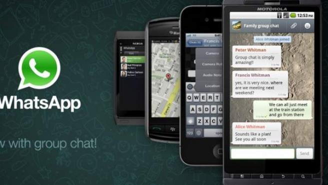Aplicación para móviles Whatsapp.
