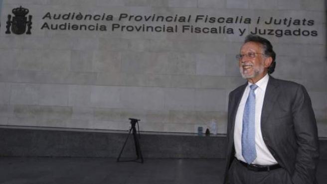 El exvicealcalde de Valencia, Alfonso Grau, en una imagen de archivo.