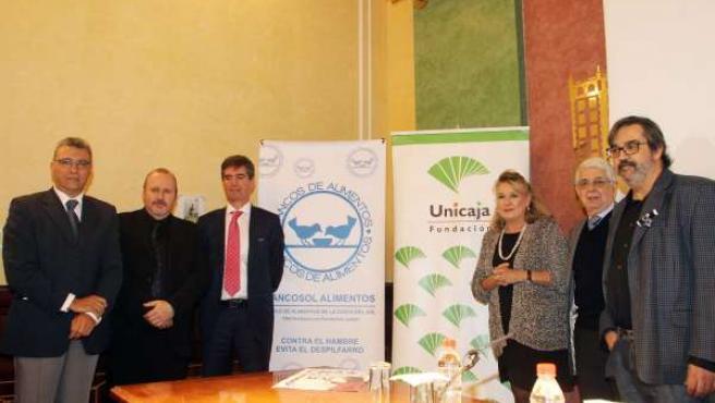 Acuerdo entre Unicaja y Bancos de Alimentos