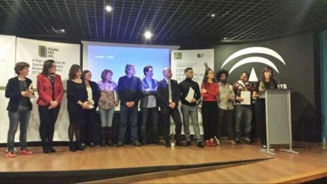 Entrega de premios del II Concurso de Cortometrajes contra Violencia de Género