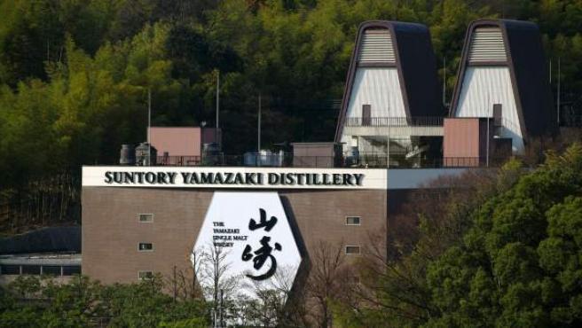 La destilería de Whisky Yamazaki de la empresa japonesa Suntory.